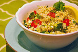 Brown Rice and Vegetable Bowl Recipe