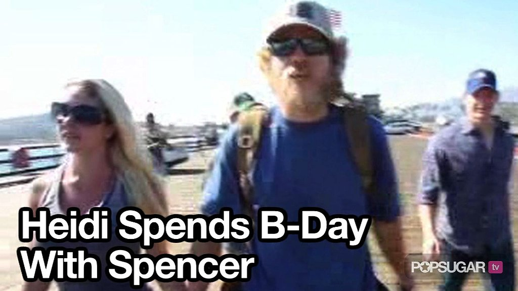 Video of Heidi Montag and Spencer Pratt in Santa Barbara For Heidi's Birthday