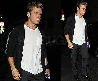 Pictures of Ryan Phillippe Clubbing in Hollywood Following a Trip to Toronto