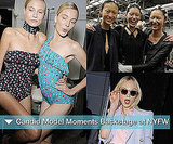 Backstage Pictures From New York Fashion Week