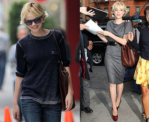 Pictures of Carey Mulligan in New York