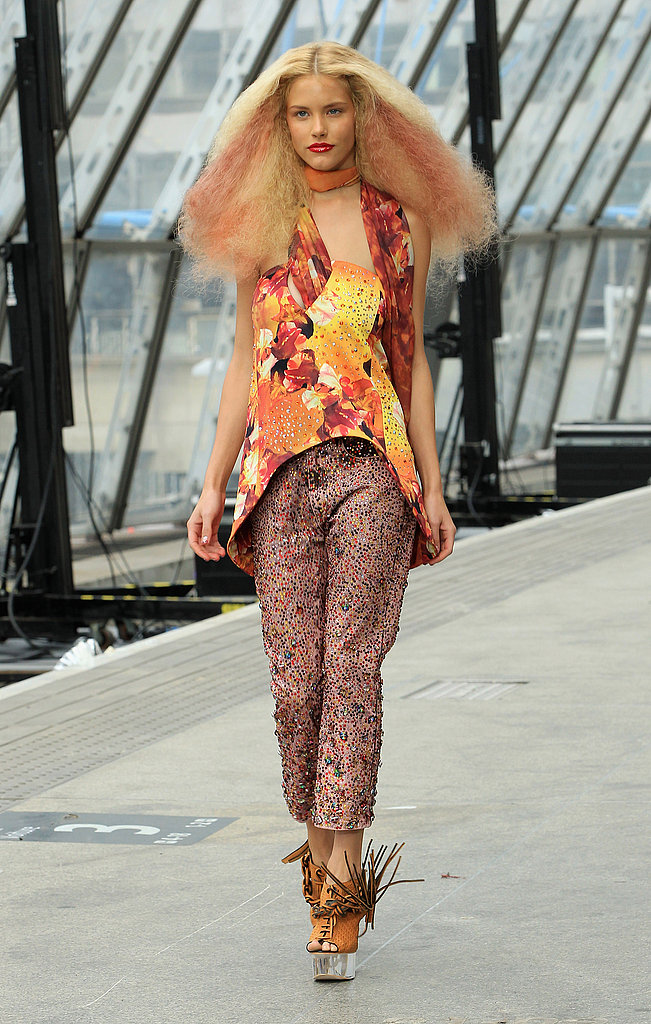2011 Spring London Fashion Week: Topshop Unique