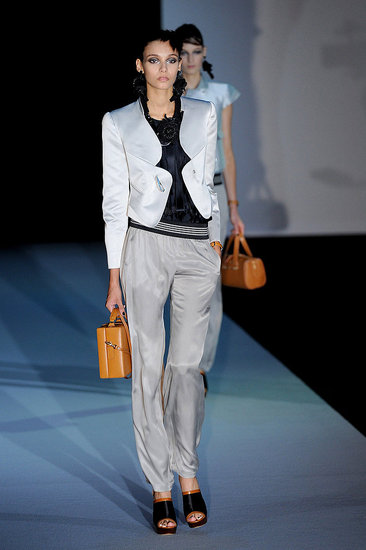 Spring 2011 Milan Fashion Week: Emporio Armani