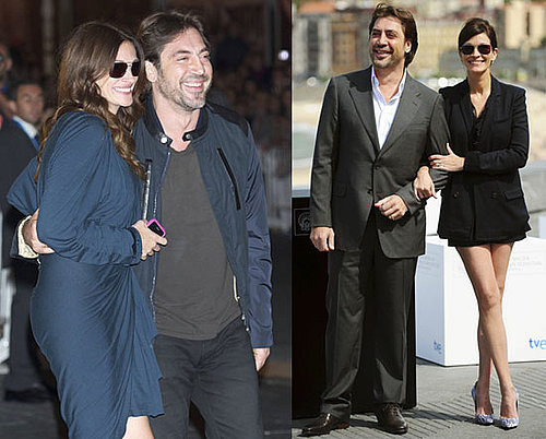 Pictures of Julia Roberts and Javier Bardem Promoting Eat Pray Love