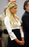 Pictures of Paris Hilton in Court