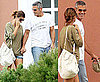 Pictures of George Clooney and Elisabetta Canalis in Italy