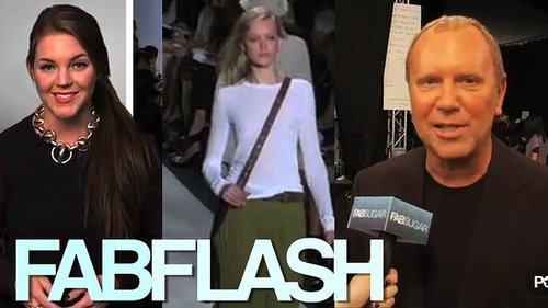 Interview with Michael Kors at New York Fashion Week Spring 2011