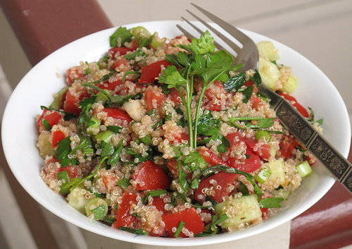 Fast, Easy, Healthy Recipe For Quinoa Tabbouleh