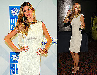 Pictures of Gisele at UN Event