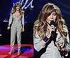 Jennifer Lopez Wears a Gray Sequin Jumpsuit to American Idol Press Conference