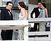 Pictures of Ed Westwick and Leighton Meester Filming Gossip Girl Together Before Season 4 Airs in UK