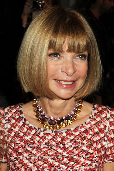 Anna Wintour at Burberry