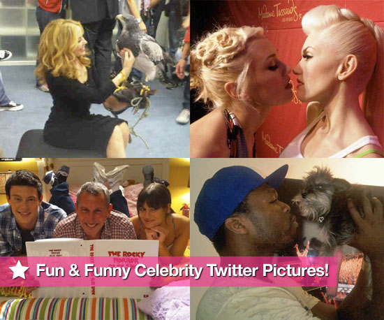 Slideshow of Celebrity Twitter Pictures