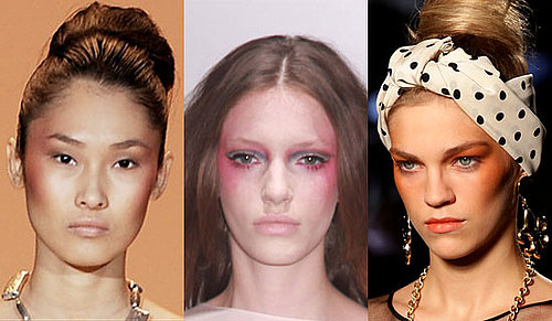 Blush on the Side Trend From 2011 Fashion Week