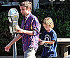 Slide Picture of Matt Bellamy With Ryder Robinson in LA