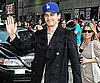 Slide Picture of James Franco at Late Show