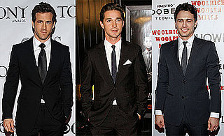 Pictures of Shia LaBeouf, Ryan Reynolds, and James Franco
