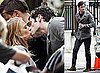 Pictures of Blake Lively and Penn Badgley Kissing on the Gossip Girl Set