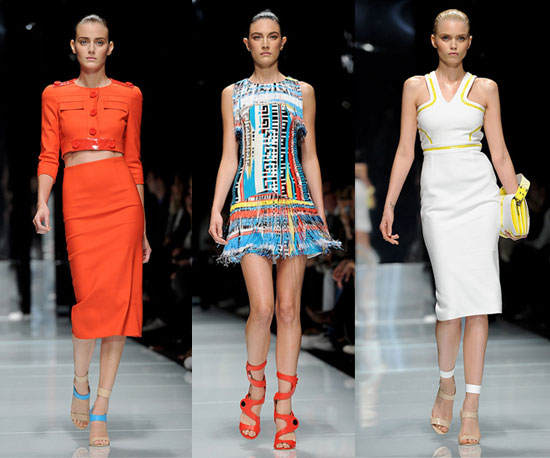 Spring 2011 Milan Fashion Week: Versace 2010-09-24 13:00:27