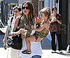 Slide Picture of Jessica Alba and Honor in LA