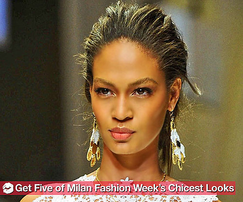 How to Get 5 of the Most Beautiful Looks From Milan Fashion Week
