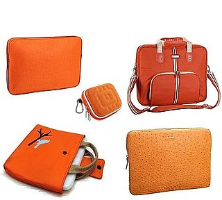 Orange Laptop and Camera Cases