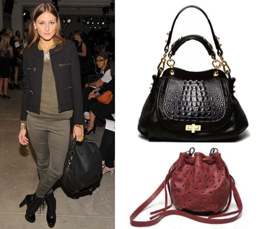 Olivia Palermo Carrying CC Skye Bag