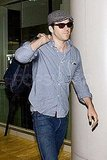 Pictures of Ryan Reynolds at LAX
