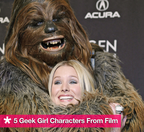 Geek Girl Characters in Film
