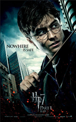 New Harry Potter and the Deathly Hallows Posters Feature Harry, Ron, and Hermione