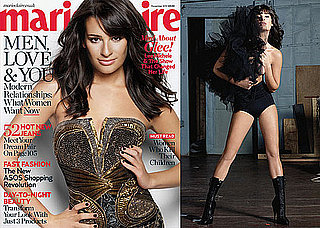 Pictures of Lea Michele in Marie Claire UK