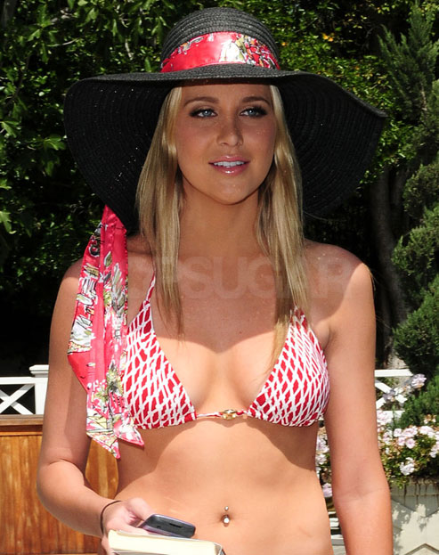 Stephanie Pratt Celebrates Heidi and Spencer's Reconciliation in Her Bikini!