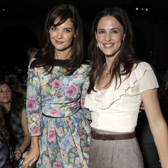 Katie Holmes and Jennifer Garner Team Up For a Powerful Lunch