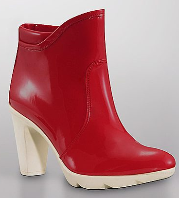 Rain boots can be so chunky and heavy, but these Aquatalia Giggle Patent Rain Booties ($200, originally $260) are perfect. I can't wait to splash around in them.