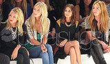Sienna Miller Hair at London Fashion Week