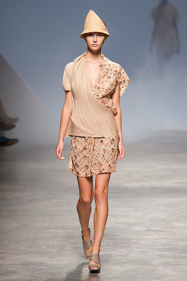 Spring 2011 Paris Fashion Week: Issey Miyake