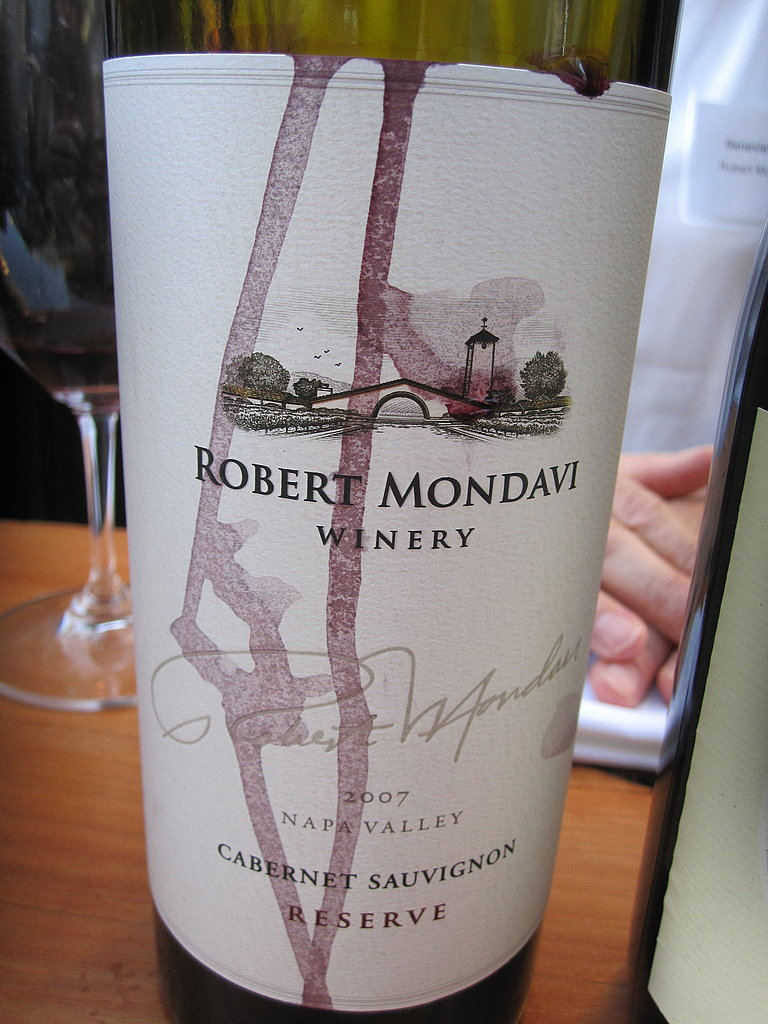 The celebrated wine was the 2007 Cabernet Sauvignon Reserve. Full-bodied and big, it was a quintessential, high quality Napa Cab.
