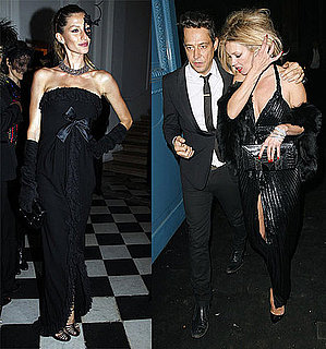 Pictures of Gisele Bundchen, Kate Moss, Tyra Banks at Vogue Paris Fashion Week Party
