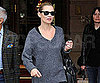Slide Picture of Kate Moss Leaving Ritz in Paris