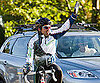 Slide Picture of Patrick Dempsey Biking For Charity