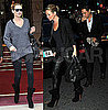 Pictures of Kate Moss on a Dior Shoot in Paris and Eating at Cafe de Flore With Jamie Hince
