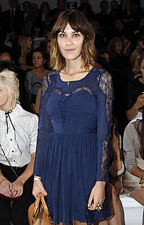 Picture of Alexa Chung at Paris Fashion Week
