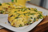 Easy Asparagus and Potato Frittata