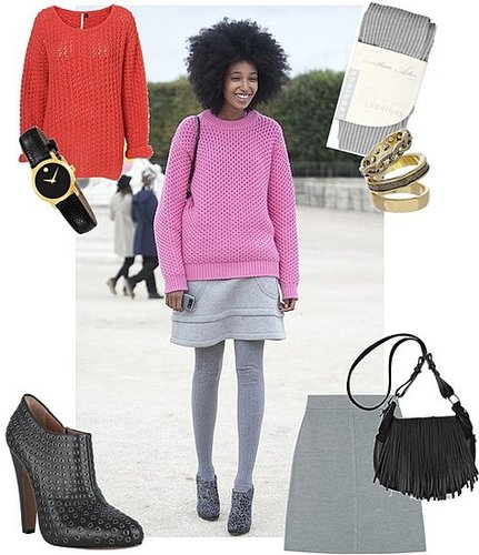 Paris Fashion Week Street Style — Julia Sarr-Jamois