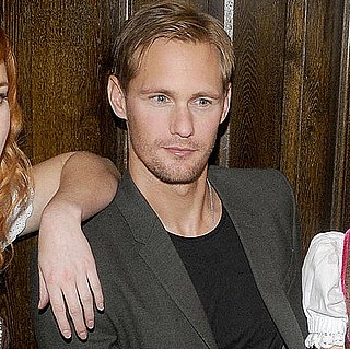 Pictures of Alexander Skarsgard Visiting His Hometown of Stockholm, Sweden