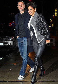 Pictures of Halle Berry Out to Dinner in NYC
