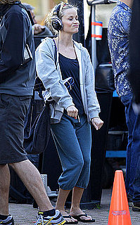 Pictures of Reese Witherspoon Filming This Means War