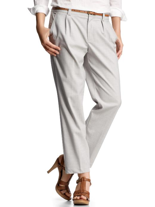 Gap Pleated Crop Pants ($15, originally $60)