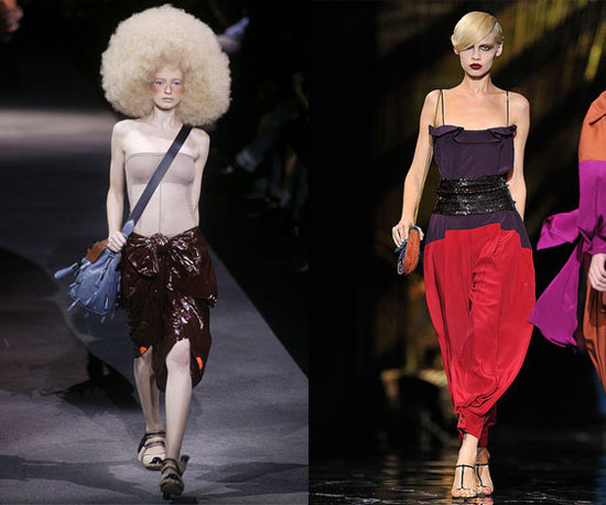 Compare and Contrast: Louis Vuitton Spring '10 vs. Spring '11