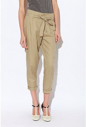 Cooperative Tie-Front Twill Pant ($58)